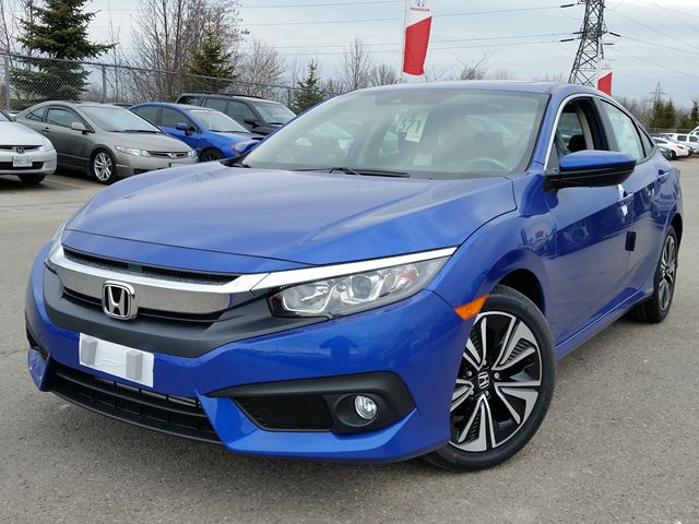 2016 honda civic ex t blue whitby oshawa honda new car for 2016 honda civic ex t review