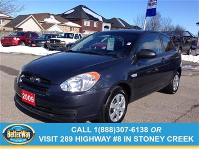 2009 hyundai accent man l grey betterway auto superstore. Black Bedroom Furniture Sets. Home Design Ideas