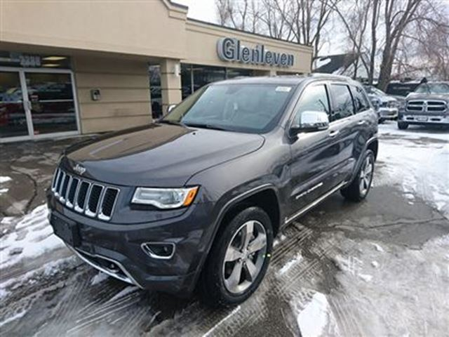2016 jeep grand cherokee brand new overland diesel oakville ontario used car for sale 2420483. Black Bedroom Furniture Sets. Home Design Ideas