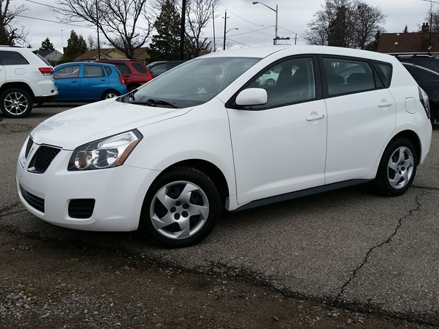 2009 pontiac vibe brampton ontario used car for sale. Black Bedroom Furniture Sets. Home Design Ideas