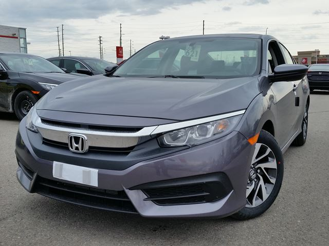 2016 honda civic ex steel whitby oshawa honda new car. Black Bedroom Furniture Sets. Home Design Ideas
