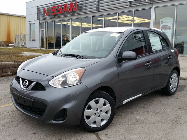2016 Nissan Micra Sv Orillia Ontario New Car For Sale