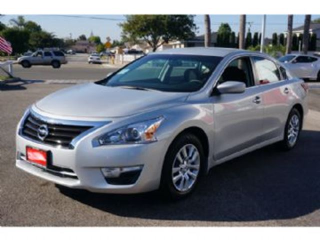 2015 Nissan Altima Silver Lease Busters Wheels Ca
