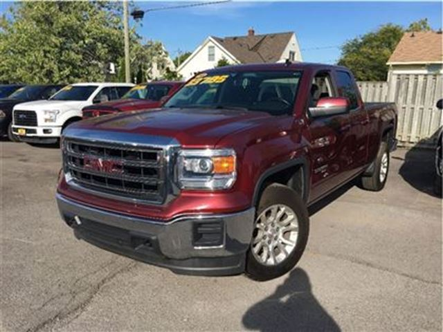 2014 gmc sierra 1500 sle z 71 package 18inch mags red two guys quality cars. Black Bedroom Furniture Sets. Home Design Ideas