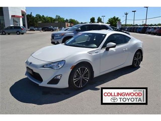 Scion Frs Lease >> 2016 Scion FR-S * 6 SPEED AUTO RWD COUPE * LAST OF THE FR-S White | COLLINGWOOD TOYOTA SCION ...