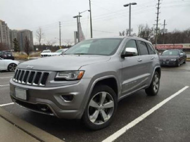2015 jeep grand cherokee overland four wheel drive mississauga ontario used car for sale. Black Bedroom Furniture Sets. Home Design Ideas