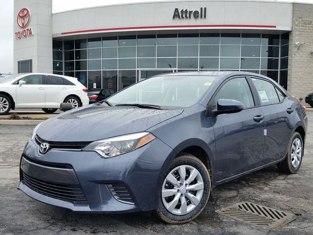 2016 toyota corolla le grey attrell toyota new. Black Bedroom Furniture Sets. Home Design Ideas