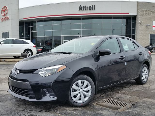 2016 toyota corolla le black attrell toyota new. Black Bedroom Furniture Sets. Home Design Ideas