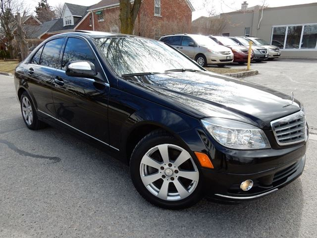 2009 mercedes benz c class c230 6 speed mt leather roof for 2009 mercedes benz c230