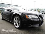 2014 Audi A8 4dr Sdn 3.0L TDI NO ACCIDENTSONE OWNER in Vancouver, British Columbia
