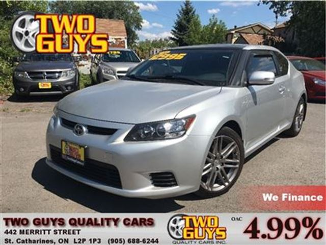 2011 SCION TC LEATHER MOONROOF FULLY LOADED in St Catharines, Ontario