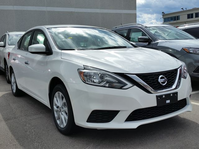 2016 nissan sentra sv mississauga ontario new car for sale 2429914. Black Bedroom Furniture Sets. Home Design Ideas