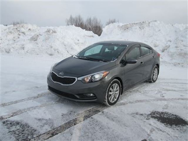 2014 kia forte lx gray ron macgillivray chevrolet buick. Black Bedroom Furniture Sets. Home Design Ideas