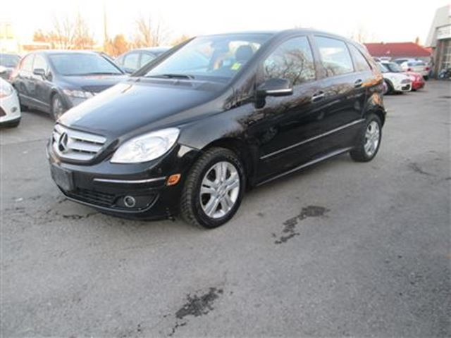 2007 mercedes benz b class turbo black toronto quality motors. Black Bedroom Furniture Sets. Home Design Ideas