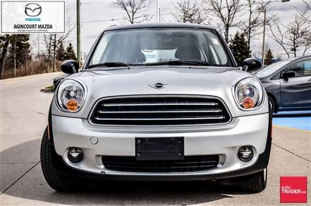 2011 mini cooper countryman base scarborough ontario used car for sale 2432442. Black Bedroom Furniture Sets. Home Design Ideas