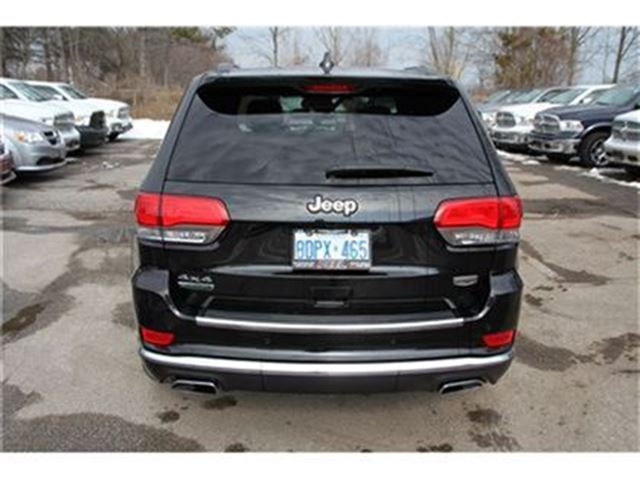 2015 jeep grand cherokee summit diesel executive demo mississauga ontario used car for. Black Bedroom Furniture Sets. Home Design Ideas