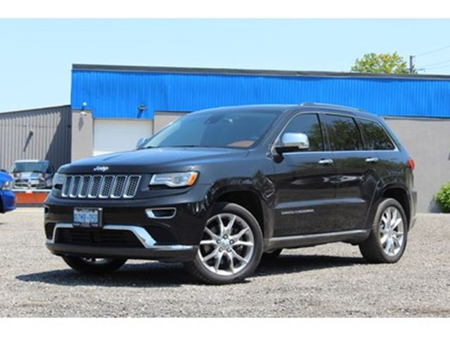2015 jeep grand cherokee summit rare dark sienna brown. Black Bedroom Furniture Sets. Home Design Ideas