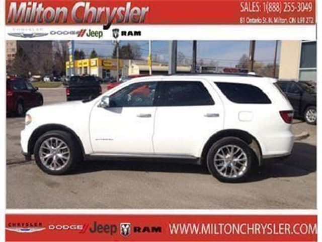2015 Dodge Durango Citadel AWD Leather Sunroof 8.4 Navigation in Milton, Ontario