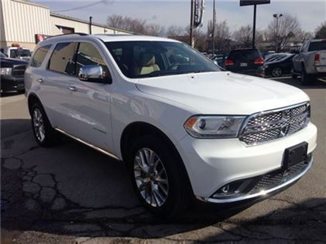 used 2015 dodge durango citadel awd leather sunroof 8. Black Bedroom Furniture Sets. Home Design Ideas