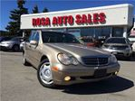 2003 Mercedes-Benz C-Class 5DR Wgn 2.6L AWD LEATHER SUNFROOF SAFETY ETEST VER in Oakville, Ontario