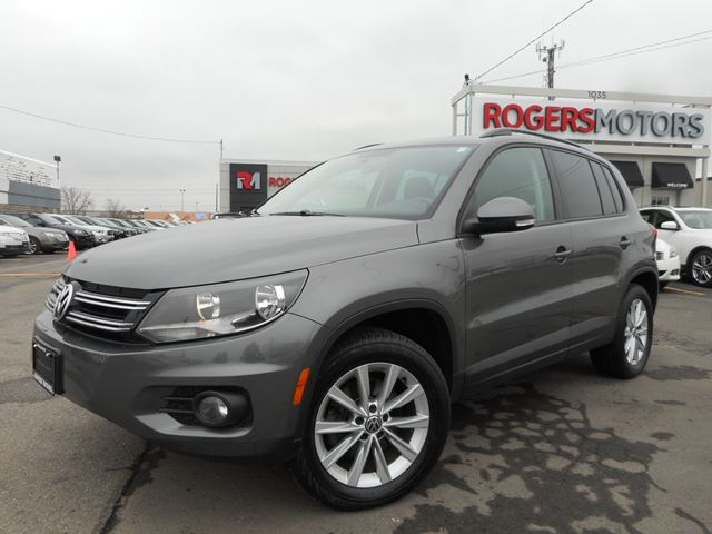 2012 Volkswagen Tiguan AWD - COMFORTLINE - LEATHER Gray | ROGERS MOTORS | Wheels.ca