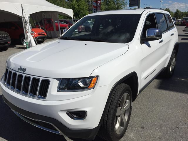 2015 jeep grand cherokee limited gatineau quebec car for sale 2433146. Black Bedroom Furniture Sets. Home Design Ideas