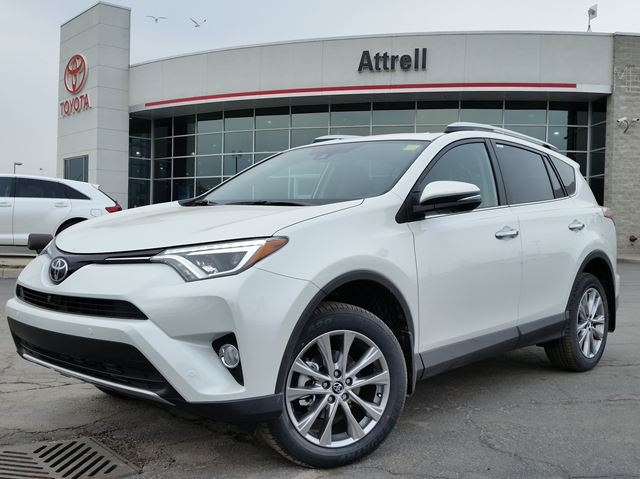 2016 toyota rav4 limited awd white attrell toyota new. Black Bedroom Furniture Sets. Home Design Ideas