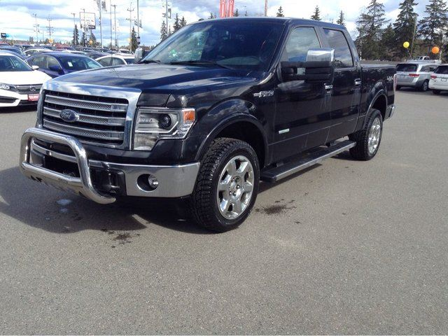 2013 FORD F-150 Lariat 4x4 SuperCrew Cab 5.5 ft. box 145 in. WB in Prince George, British Columbia