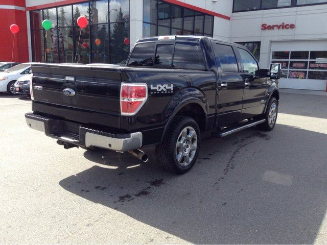 2013 ford f 150 lariat 4x4 supercrew cab 5 5 ft box 145 in wb prince george british. Black Bedroom Furniture Sets. Home Design Ideas