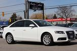 2012 Audi A4 AWD ONLY 71K! **6 SPEED** LIGHTS PKG PREMIUM PKG in Scarborough, Ontario