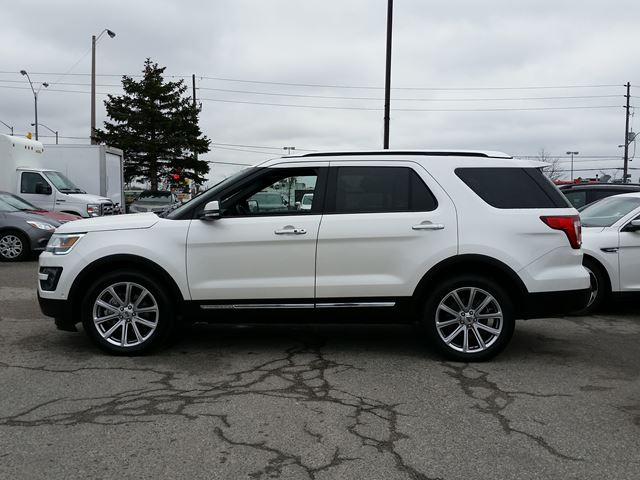 2016 ford explorer limited 4wd fully loaded trailer tow pkg 301a scarborough ontario used car. Black Bedroom Furniture Sets. Home Design Ideas
