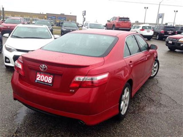 used 2008 toyota camry se for 9988 in brantford ontario 2101066. Black Bedroom Furniture Sets. Home Design Ideas