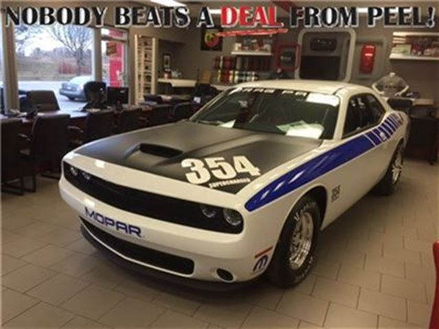 2016 Dodge Challenger Mopar Drag Pak 354 Supercharged #34 of Only 60 in Mississauga, Ontario