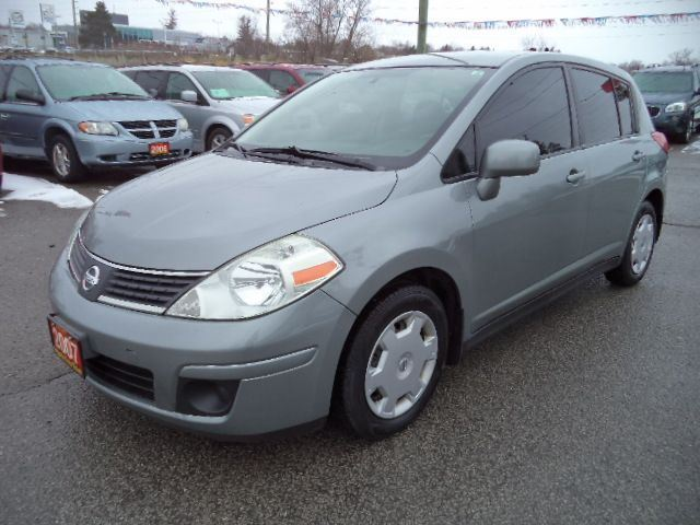 2007 nissan versa 1 8 s grey imports auto sales. Black Bedroom Furniture Sets. Home Design Ideas