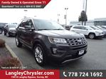 2016 Ford Explorer Limited w/Navigation, Leather Int. & Sunroof in Surrey, British Columbia