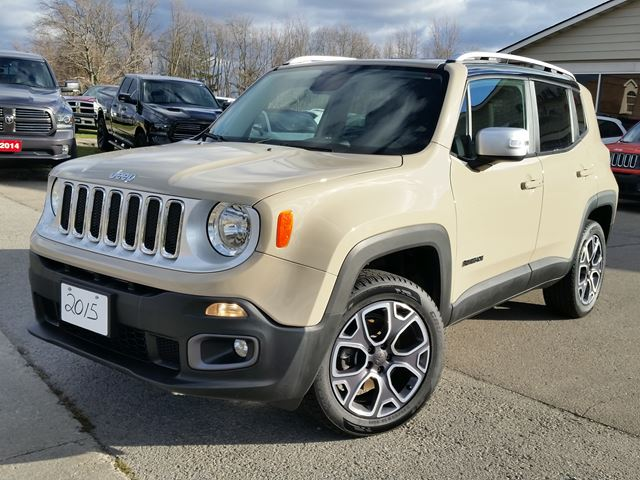 2015 jeep renegade limited 4x4 fort erie ontario car for sale 2436437. Black Bedroom Furniture Sets. Home Design Ideas