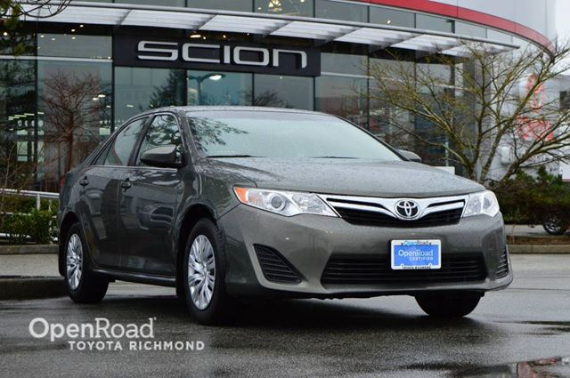 2012 toyota camry le richmond british columbia used car. Black Bedroom Furniture Sets. Home Design Ideas
