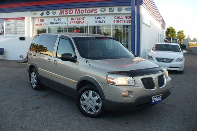 2008 PONTIAC MONTANA SV6  CERTIFIED & E-TESTED CLEAN CAR PROOF in Toronto, Ontario