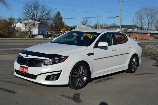 2014 kia optima sx white car on auto sales 1. Black Bedroom Furniture Sets. Home Design Ideas