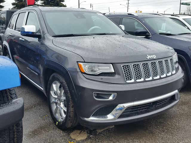 2016 jeep grand cherokee summit 4x4 vaughan ontario car for sale 2439390. Black Bedroom Furniture Sets. Home Design Ideas