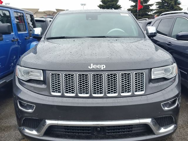 new 2016 jeep grand cherokee summit 4x4 vaughan. Black Bedroom Furniture Sets. Home Design Ideas