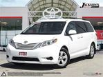 2015 Toyota Sienna LE 8 Passenger, TOYOTA CERTIFIED in Barrie, Ontario
