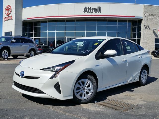 2016 toyota prius white blizzard pearl attrell toyota. Black Bedroom Furniture Sets. Home Design Ideas
