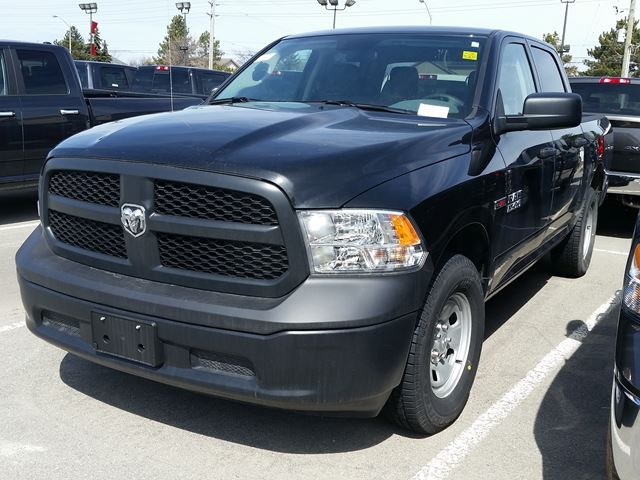 2016 dodge ram 1500 tradesman crew cab 4x4 milton ontario new car for sale 2440511. Black Bedroom Furniture Sets. Home Design Ideas