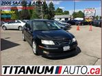 2006 Saab 9-3 V6 Turbo+HID Lights+Heated Leather Seats+Sunroof++ in London, Ontario