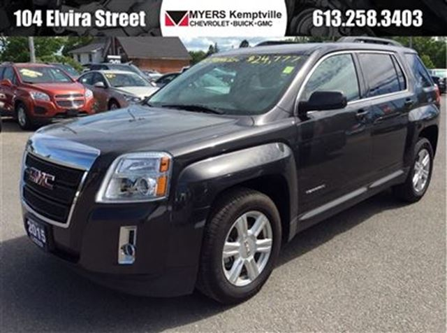 2015 gmc terrain sle black myers kemptville. Black Bedroom Furniture Sets. Home Design Ideas