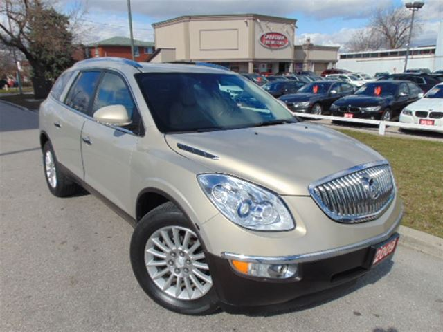 2009 buick enclave awd leather 7psgr beige canadian fine. Black Bedroom Furniture Sets. Home Design Ideas