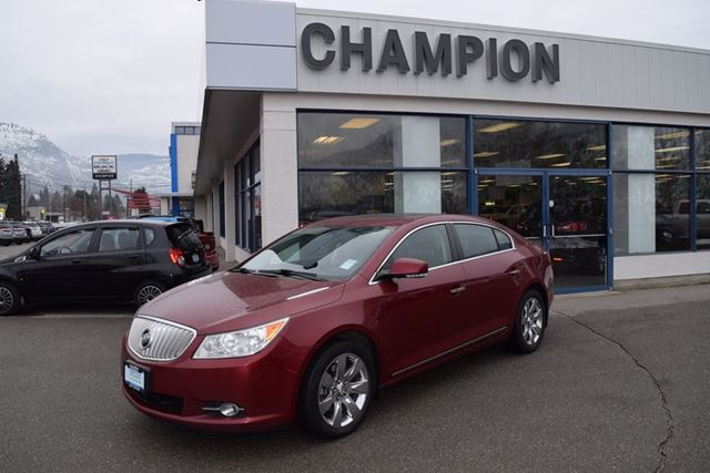 2011 Buick LaCrosse CXL in Trail, British Columbia