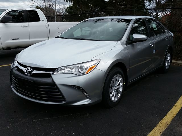 2016 toyota camry le silver erin park toyota new car. Black Bedroom Furniture Sets. Home Design Ideas