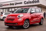 2015 Fiat 500L Lounge Navi Sunroof Backup Cam Bluetooth Keyless Entry 17Alloy Rims in Bolton, Ontario